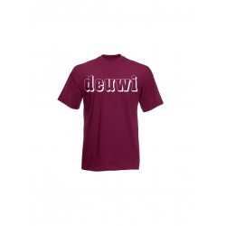 deuwi full black - t-shirt