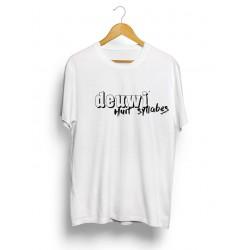 Tee-Shirt Huit Syllabes White