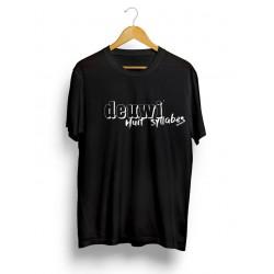 Tee-Shirt Huit Syllabes Black