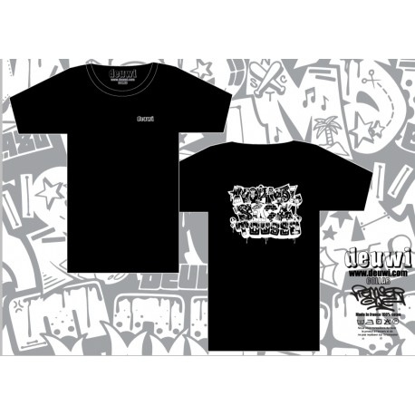 Tee-Shirt DEUWI NSCT - BLACK