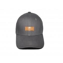 Grey Patch Cap
