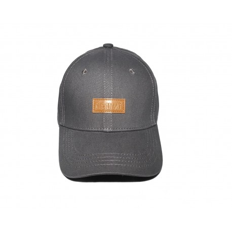 Grey Patch Cap
