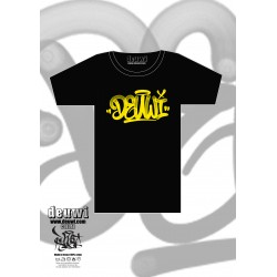 "Tee-Shirt DEUWI x YONE ""FAT CAP YELLOW"""