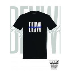 Tee-Shirt DEUWI PROPAGANDE (Noir/Bleu)