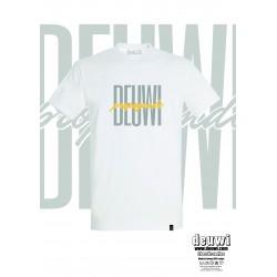Tee-Shirt DEUWI PROPAGANDE (Blanc/Jaune)